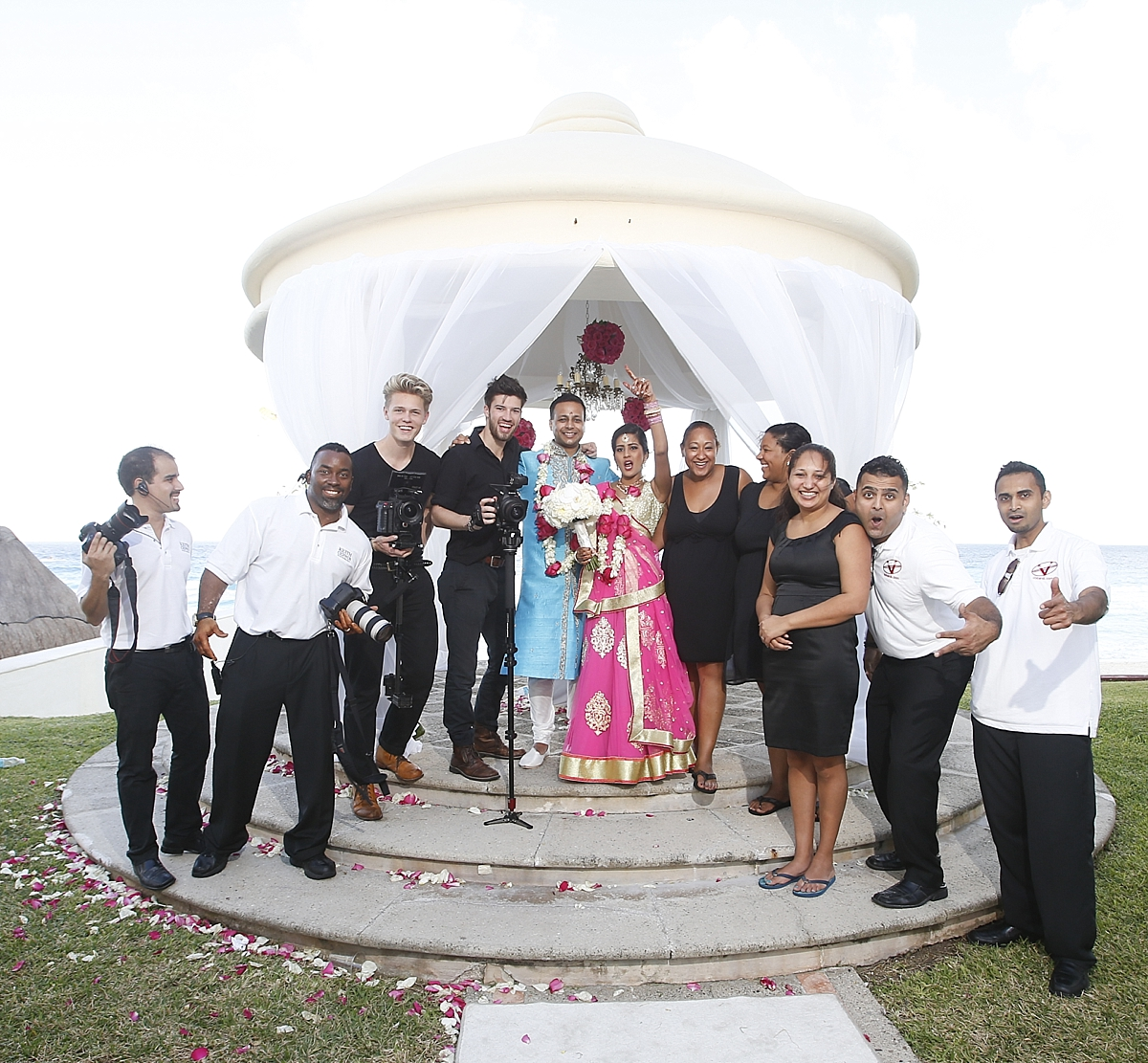 JW Marriott Cancun Destination Wedding Photographer | Indian Wedding Photographer | Amee and Neal's Amazing Destination Wedding!