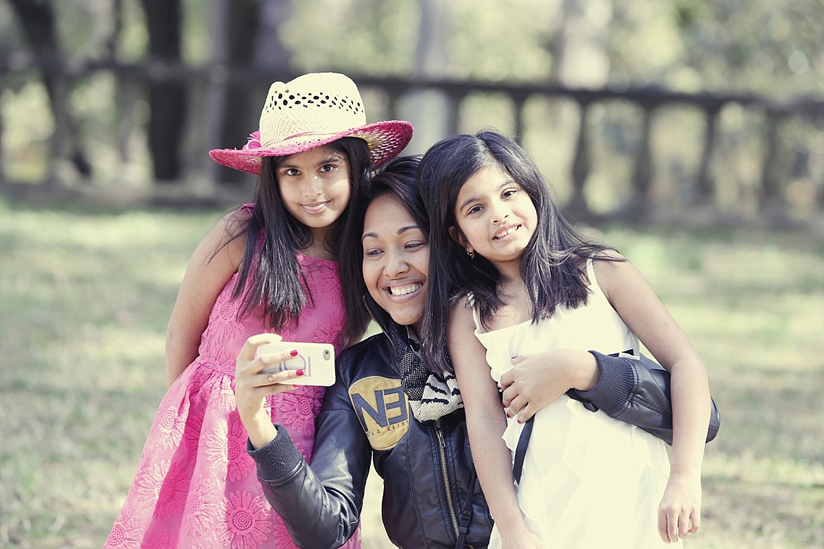 Indian Family Portrait Photographer | Photo shoot with the Lovely Twins, Shreya and Deeya!