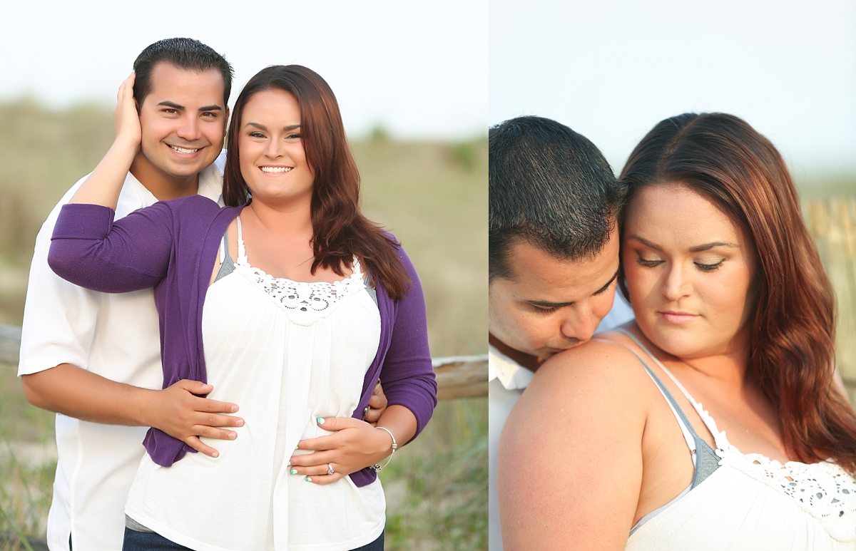 Sandbridge Beach Wedding Photographer | Jason and Jordan's Engagement Session!