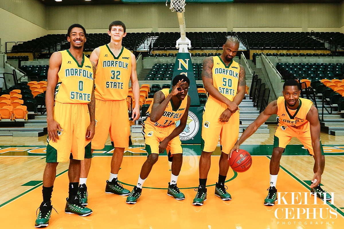 NSU Mens & Womens Basketball Marketing Photo Shoot - Keith ...