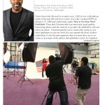 Cephus Featured in Today's Photographer Magazine for Photographing the Cover of 2x Olympic Gold Medalist Gabby Douglas' Book Cover!