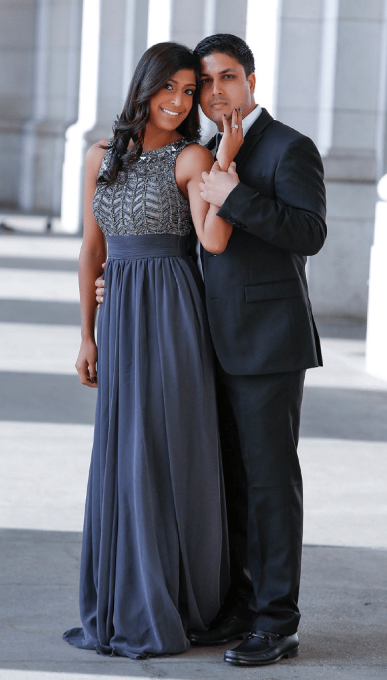 Washington DC Indian Wedding Photographer | Ranju and Nishant's DC Engagement Session Featured in South Asian Bride!