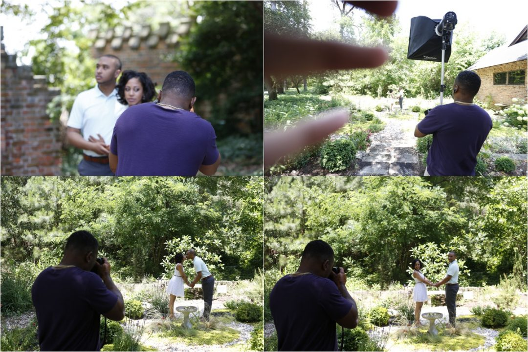 Hermitage Museum and Gardens Wedding Photographer |Breyanna and Eugene's Engagement Session!