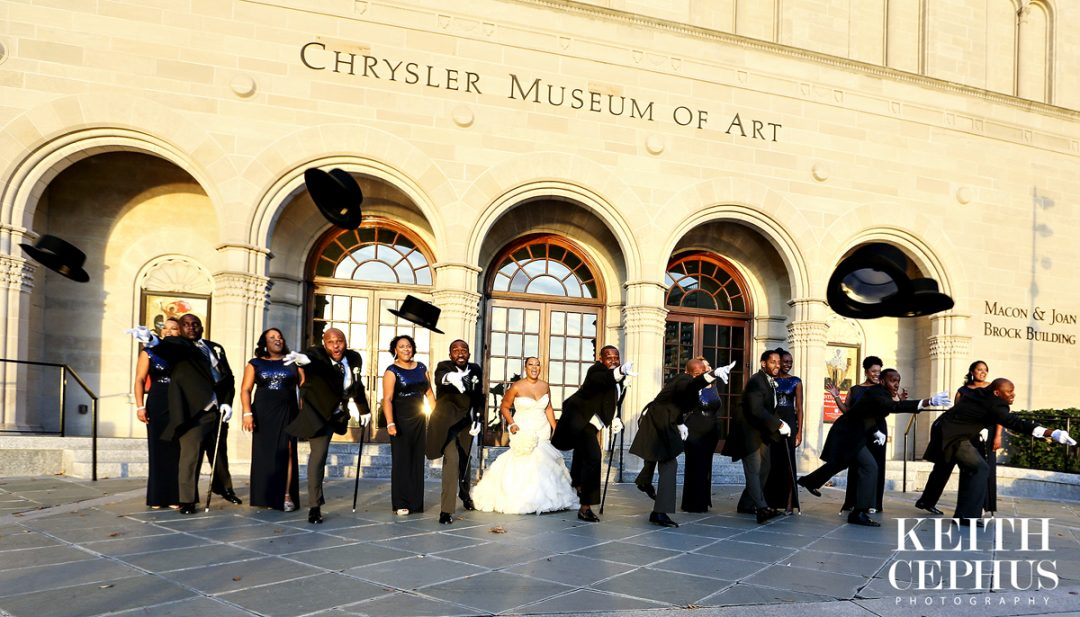 Chrysler Museum of Art Wedding Photographer | Sneak Preview: Shaunte and Antoine's Amazing Wedding at the Chrysler Museum!