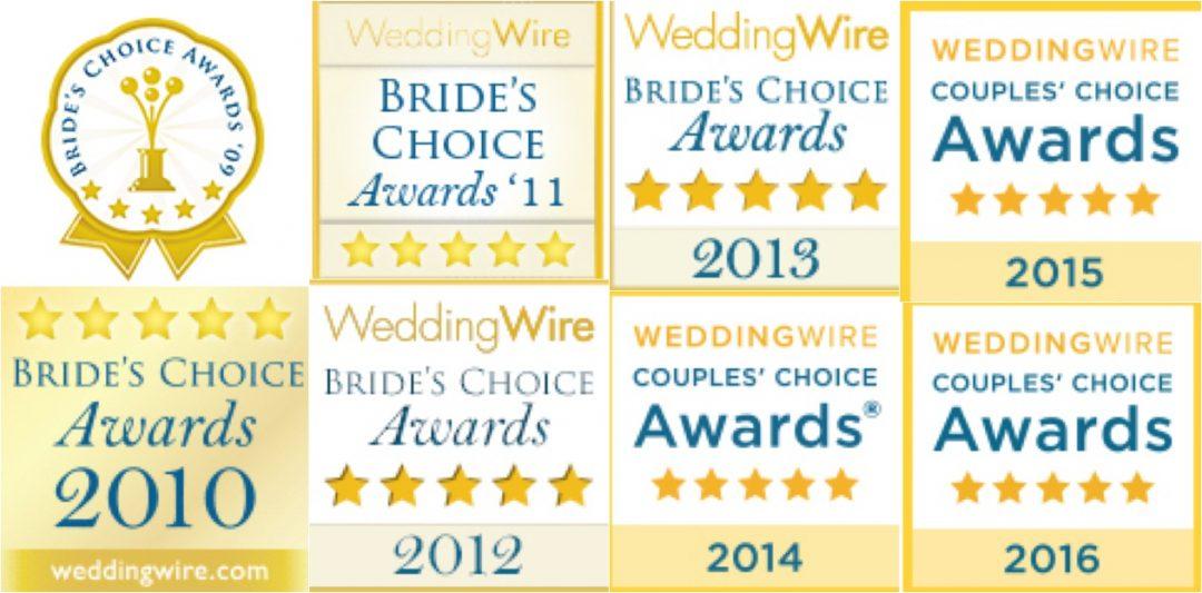 Keith Cephus Photography Wins WeddingWire Couple's Award 2016!
