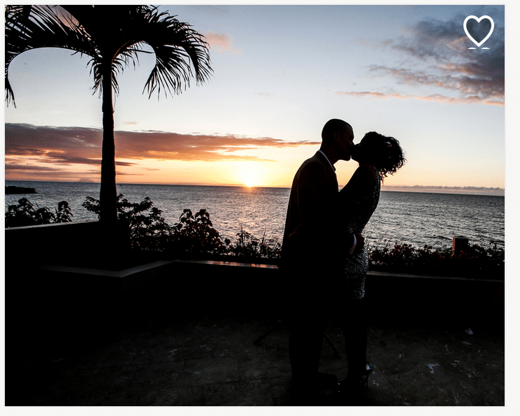Blue Waters Resort, Antigua Wedding Photographer | Cephus' Destination Wedding Featured on TheKnot!