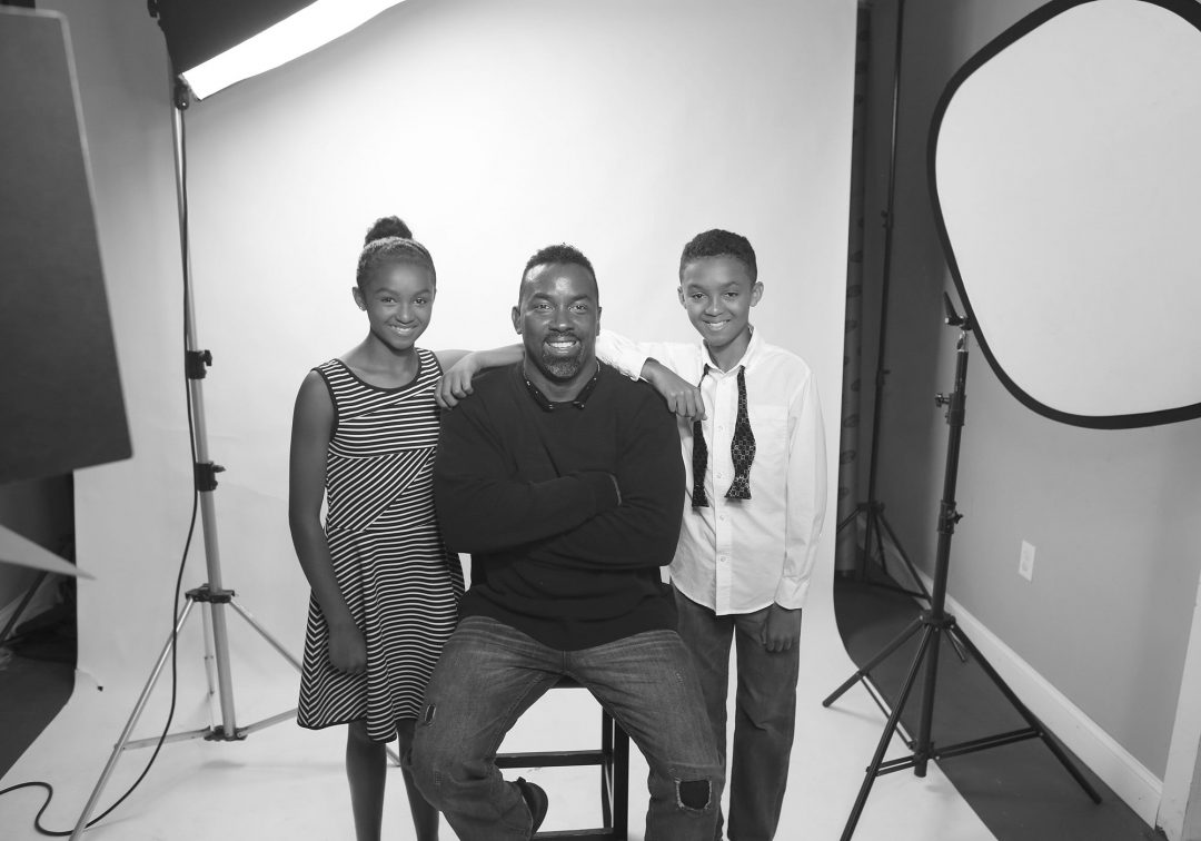 Photo Shoot with the Amazing Twin Tandem of Ava and Jayden