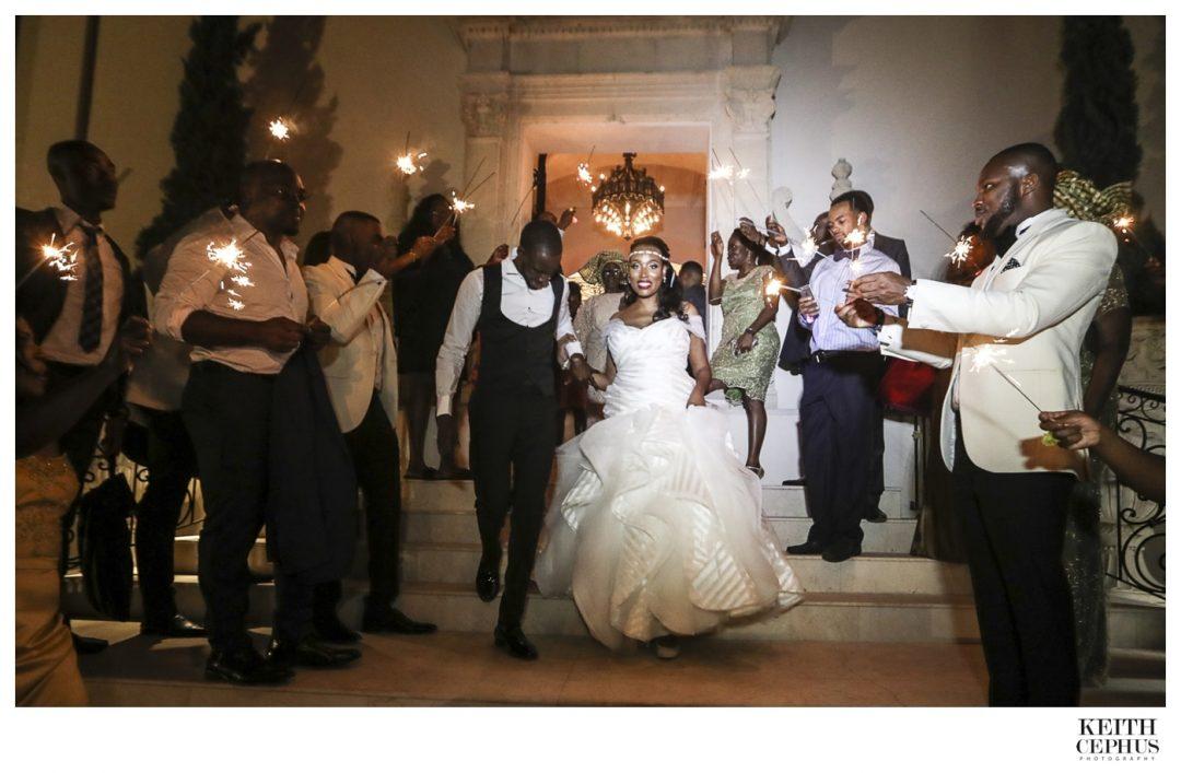 Chateau Cocomar Wedding Photographer | Nigerian Wedding Photographer | Kim and Niyi's Amazing Wedding!
