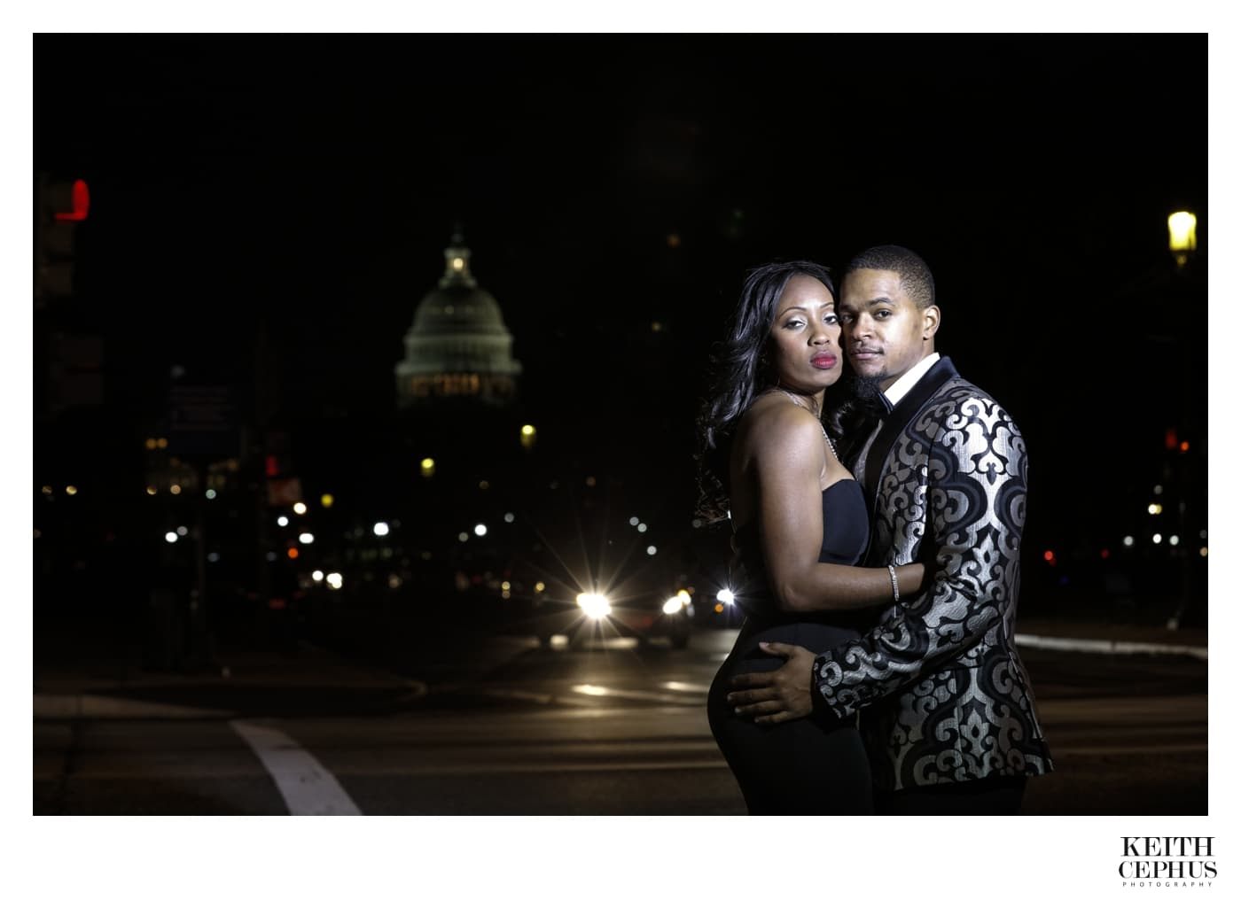 National Gallery of Art Wedding Photographer | Washington DC Wedding Photographer | Latoya and Chris' Engagement Session