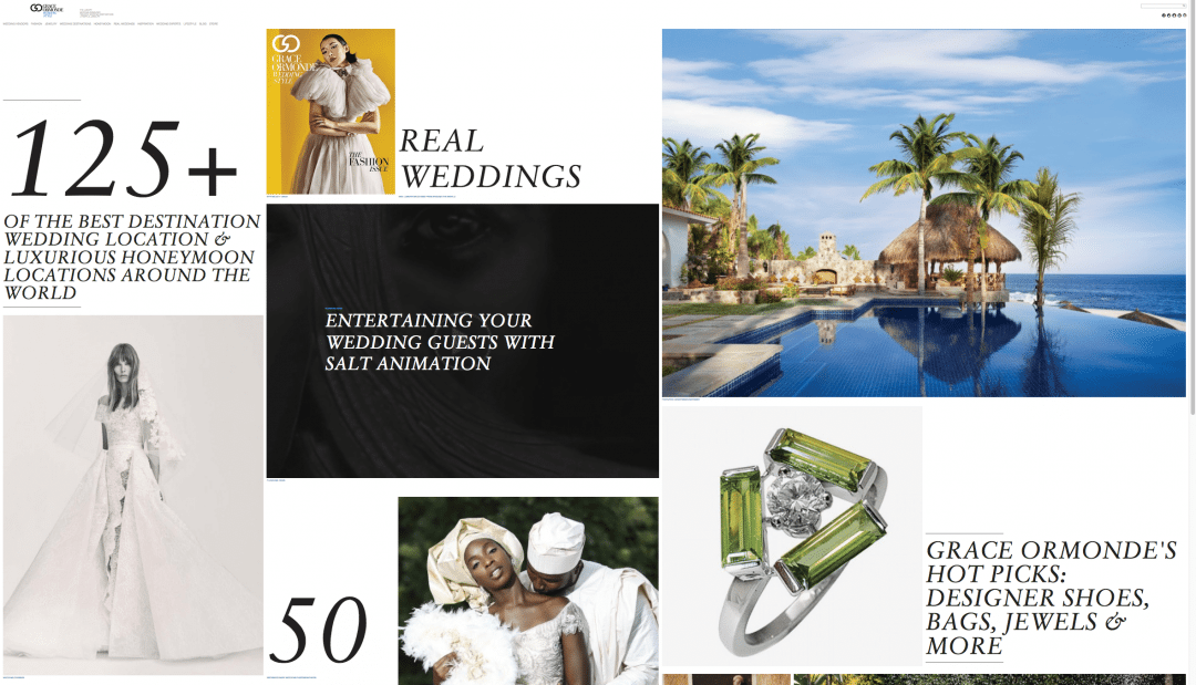 Keith Cephus' Nigerian Wedding Featured in Grace Ormonde Wedding Style!