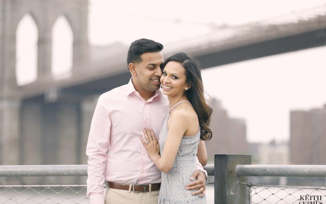 New York City Indian Wedding Photographer |  Rupal and Jay's Engagement Session