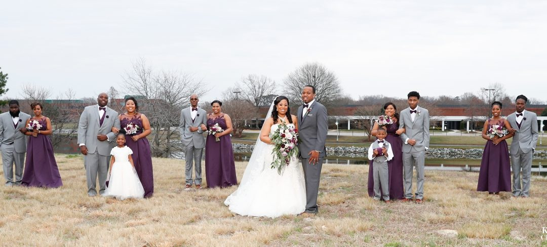 Virginia Beach Wedding Photographer | Noah's Event Venue | Kyani and Joshua's Amazing Wedding