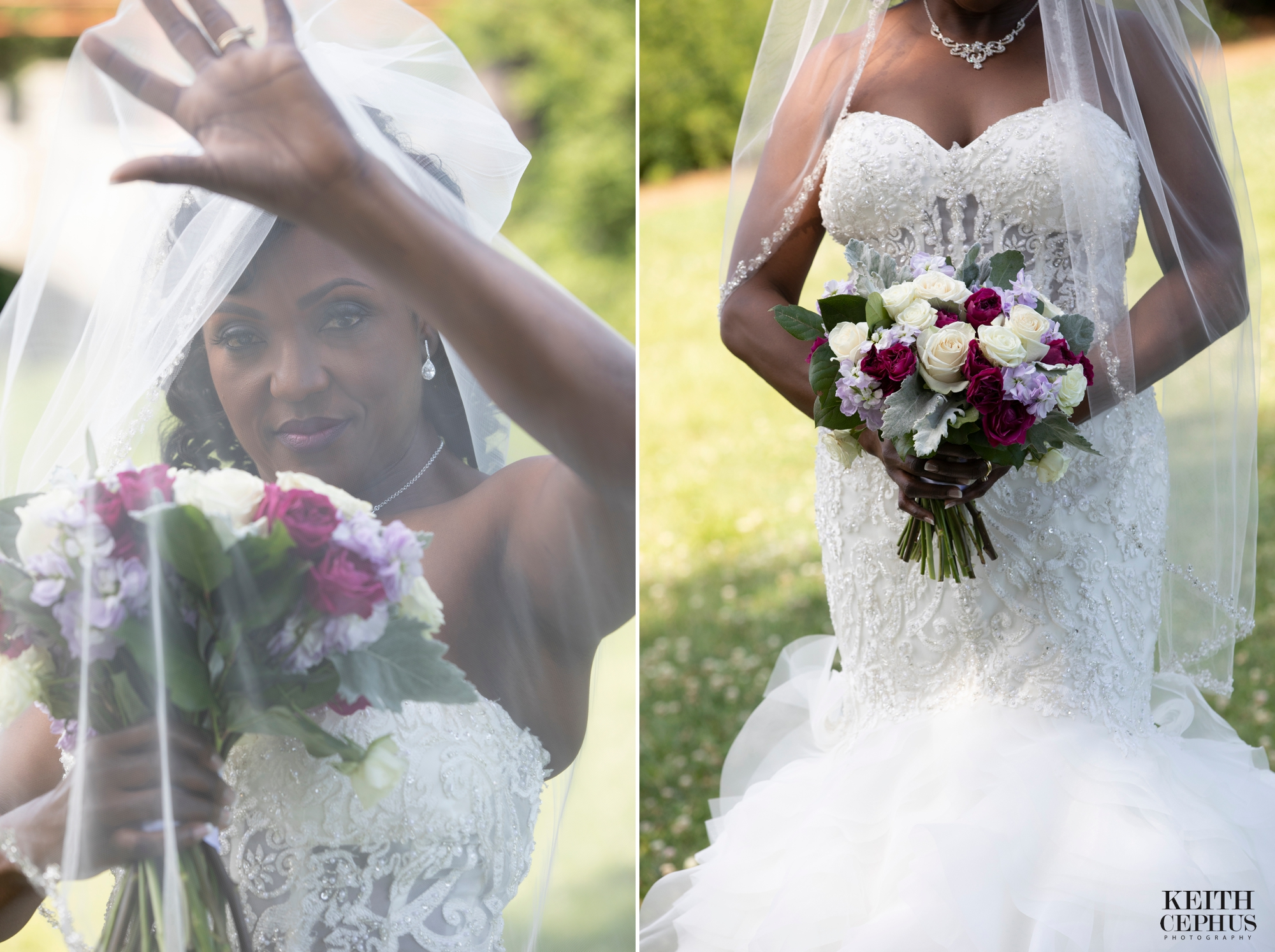 Botanical Gardens Wedding Photographer | Cynthia's Bridal Portraits!