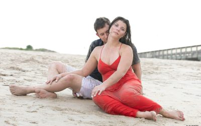 Virginia Beach Wedding Photographer | Sarah and Alex's Engagement Session at Sandbridge Beach!