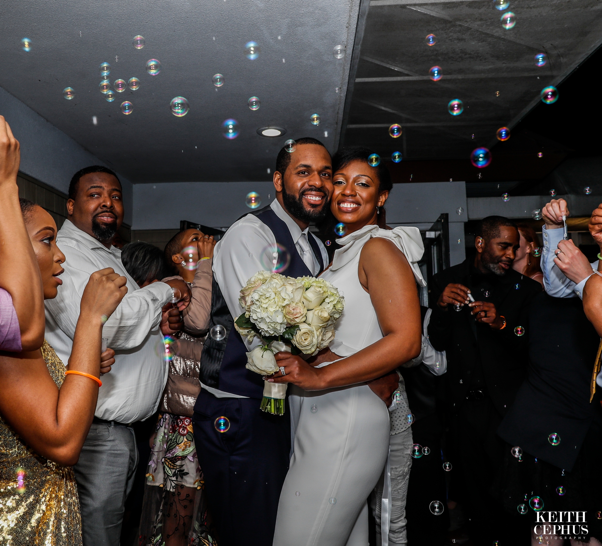 Virginia Beach Wedding Photographer | The Water Table | Cynamon and Marquis' Amazing Wedding!