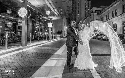 Ellen and Darnell's Luxury Wedding Featured in Munaluchi Bride Magazine!