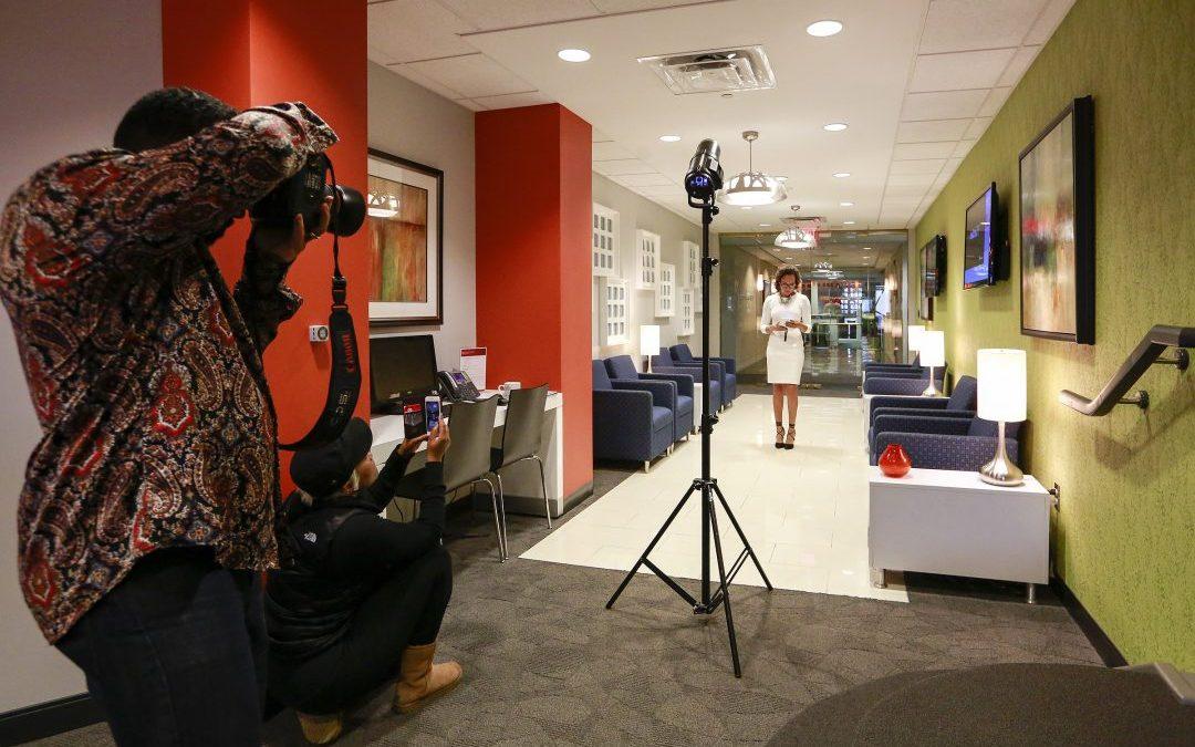 Virginia Beach Marketing and Branding Photographer | Corporate Executive Tretta Bush Marketing Photo Shoot