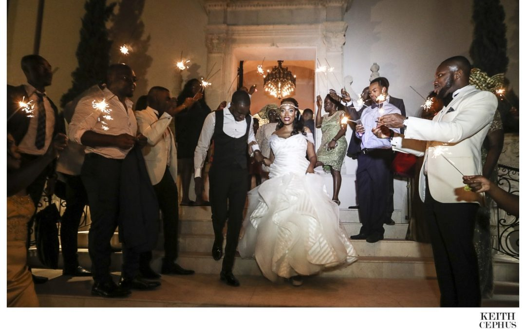 Chateau Cocomar Wedding Photographer | Nigerian Wedding Photographer | Kim and Niyi's Amazing Wedding!