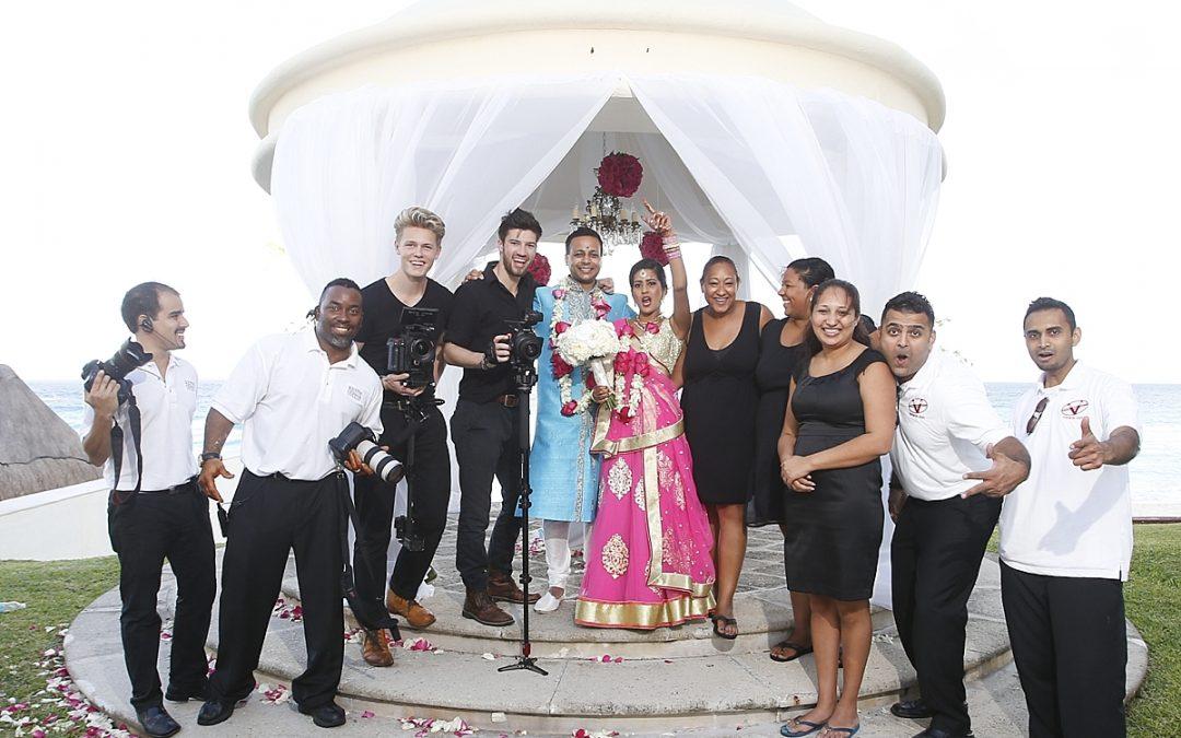 JW Marriott Cancun Destination Wedding Photographer | Indian Wedding Photographer | Amee and Neal's Amazing Destination Wedding!
