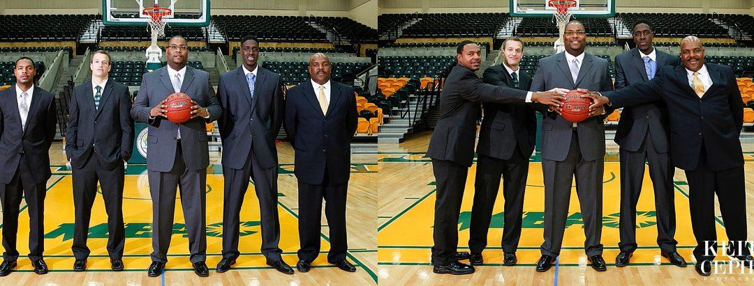NSU Mens & Womens Basketball Marketing Photo Shoot