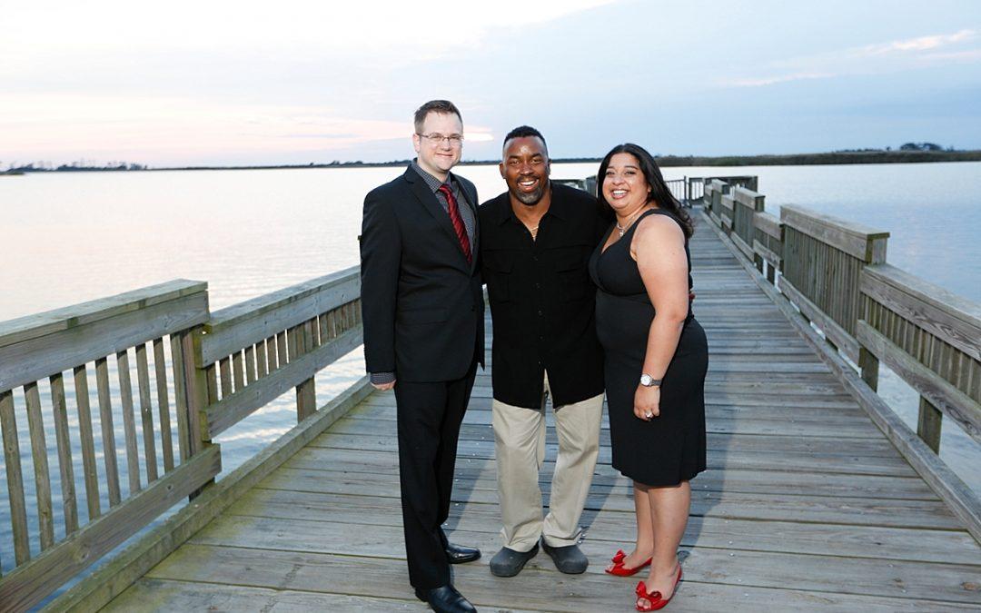Virginia Beach Wedding Photographer | Sandbridge Beach | Tracy and Greg's Engagement Session!