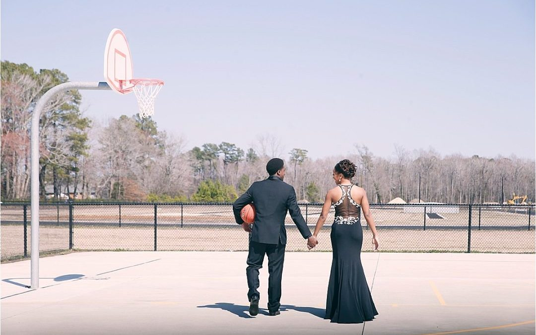 The Founders Inn & Spa Photographer | Love and Basketball | Peyton and Maurice's Ring Dance Photo Session!