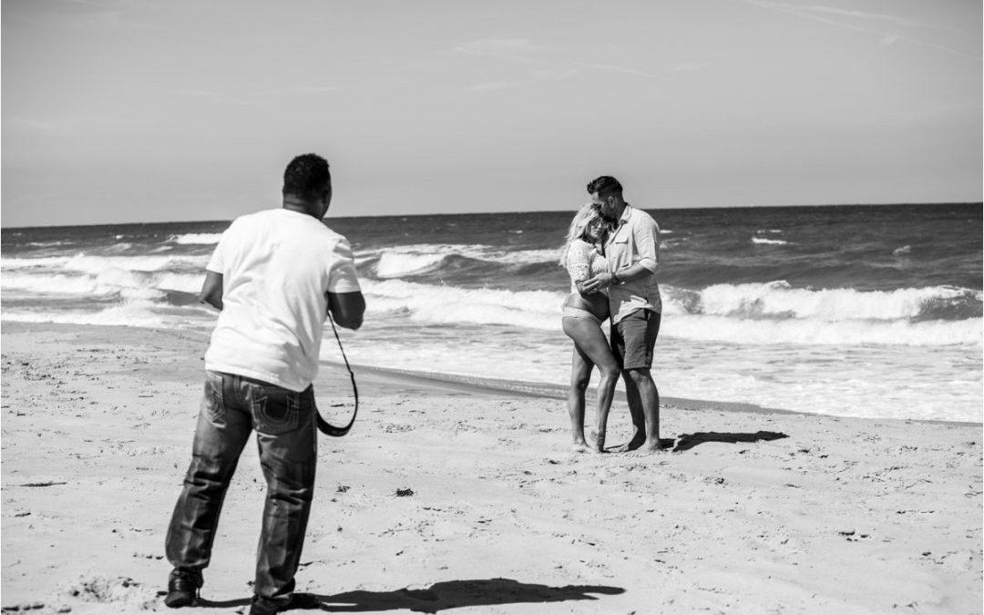 Virginia Beach Maternity Photographer | Cristina and Joe's Maternity Session at Sandbridge Beach!!