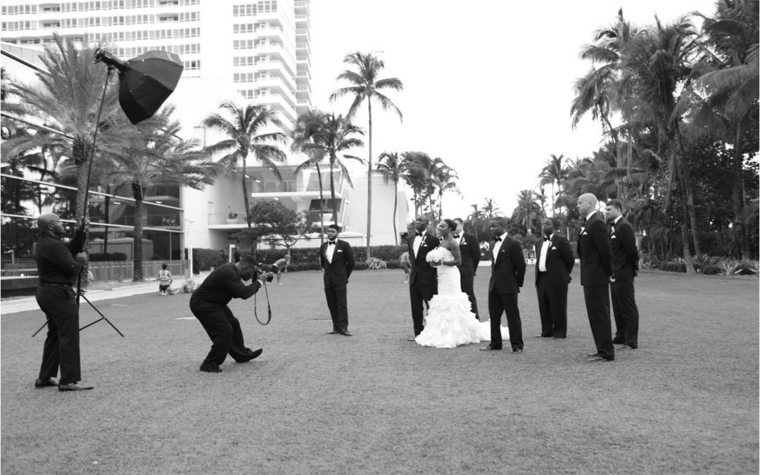 Keith Cephus' Destination Wedding at the FontaineBleau Featured in Essence!