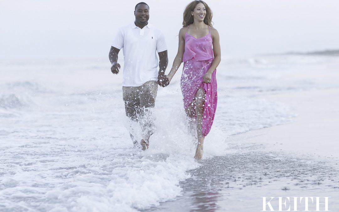 Virginia Beach Portrait Photographer | Sneak Preview:  Leslie and CJ's Family Portrait Session at Sandbridge Beach