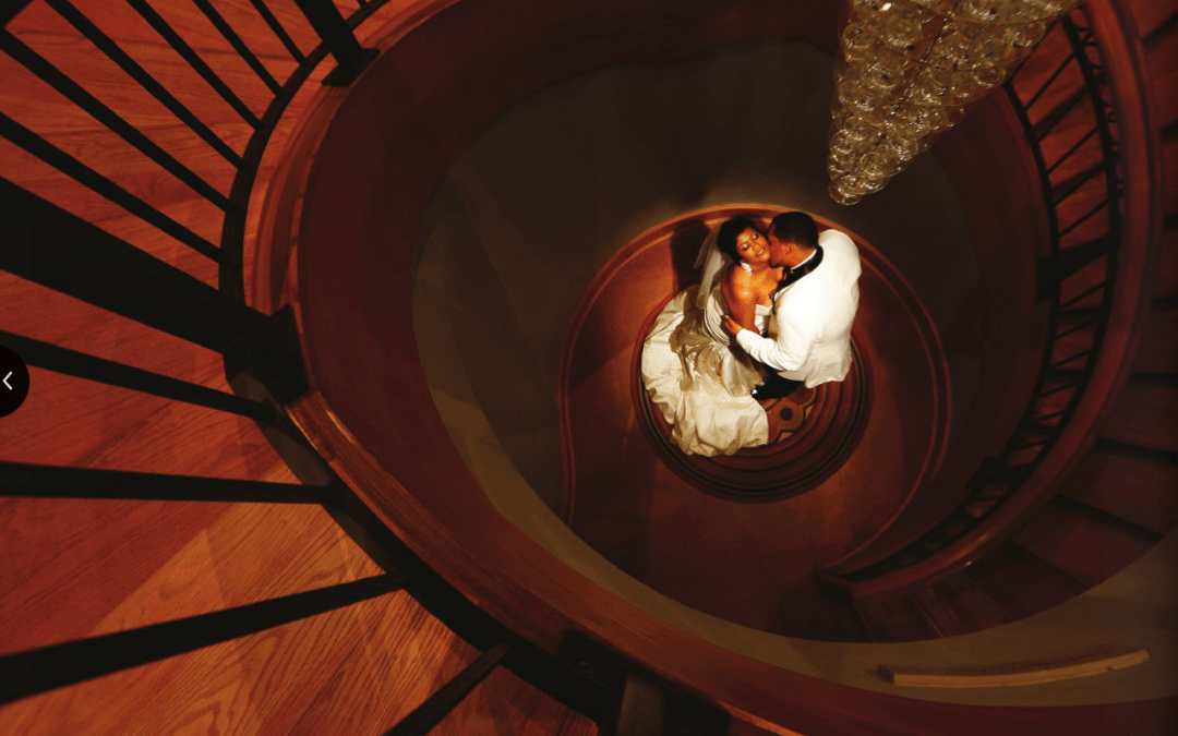 Chrysler Museum of Art Wedding Photographer | Nicole and Phil's Wedding Photo Featured on the Chrysler Museum Brochure!!