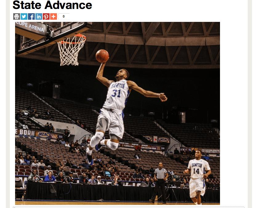 Sports Wrap by Coastal Virginia Sports Editor Keith Cephus |  Hampton Pirates, SC State Advance to MEAC Semifinals