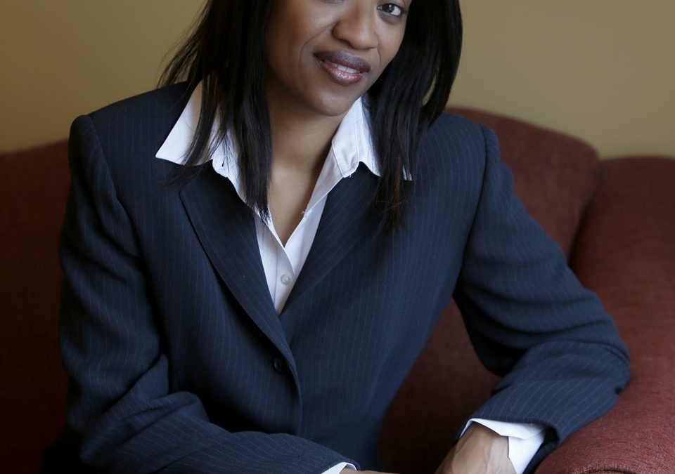 DC Corporate Headshots | I photographed my Twin Sister Kim's Portrait for her Linkin Account!