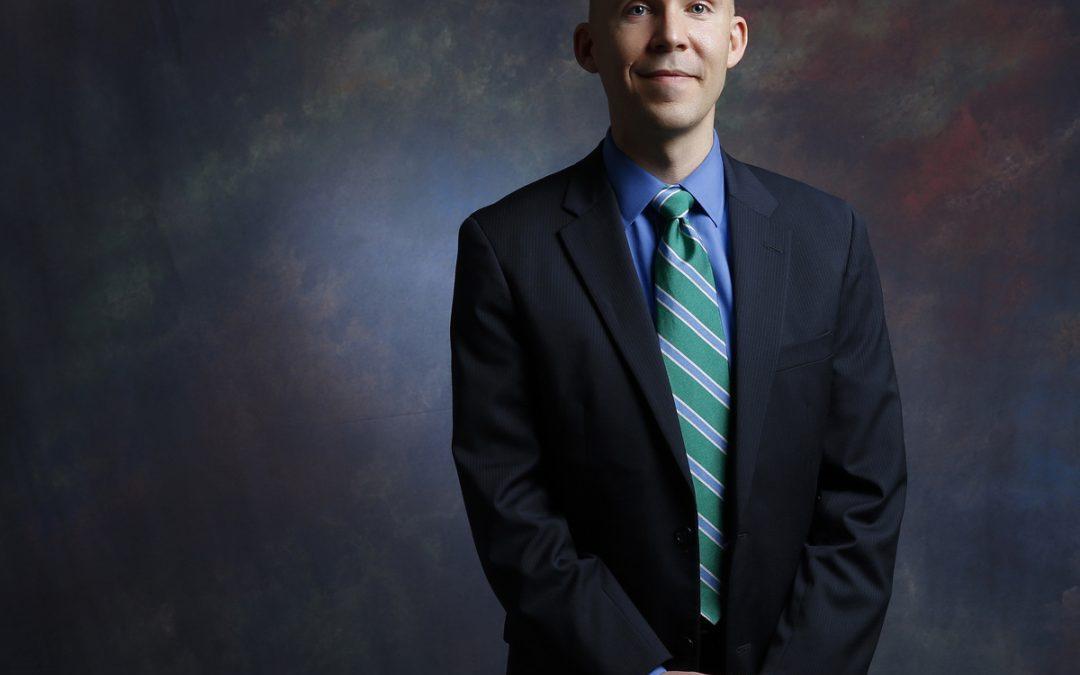 Virginia Beach Portrait Photographer | Regent University | Executive Portraits of Professor Matthew Gordley