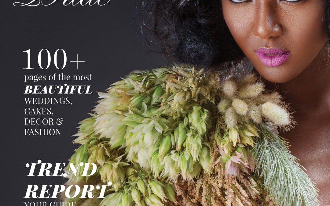 Munaluchi Bride Magazine | April and Stefan's Wedding Featured in Winter Issue of Munaluchi Bride Magazine!