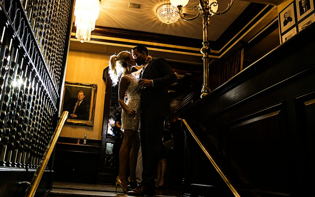 Washington DC Wedding Photographer | Occidental Restaurant | Cristina and Joe's Fabulous Engagement Party!