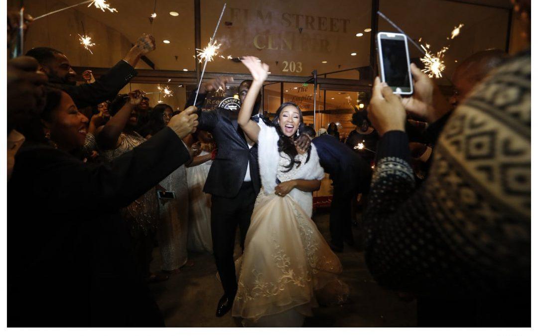The Empire Room Wedding Photographer |  Latoya and Zeb's Amazing Wedding!