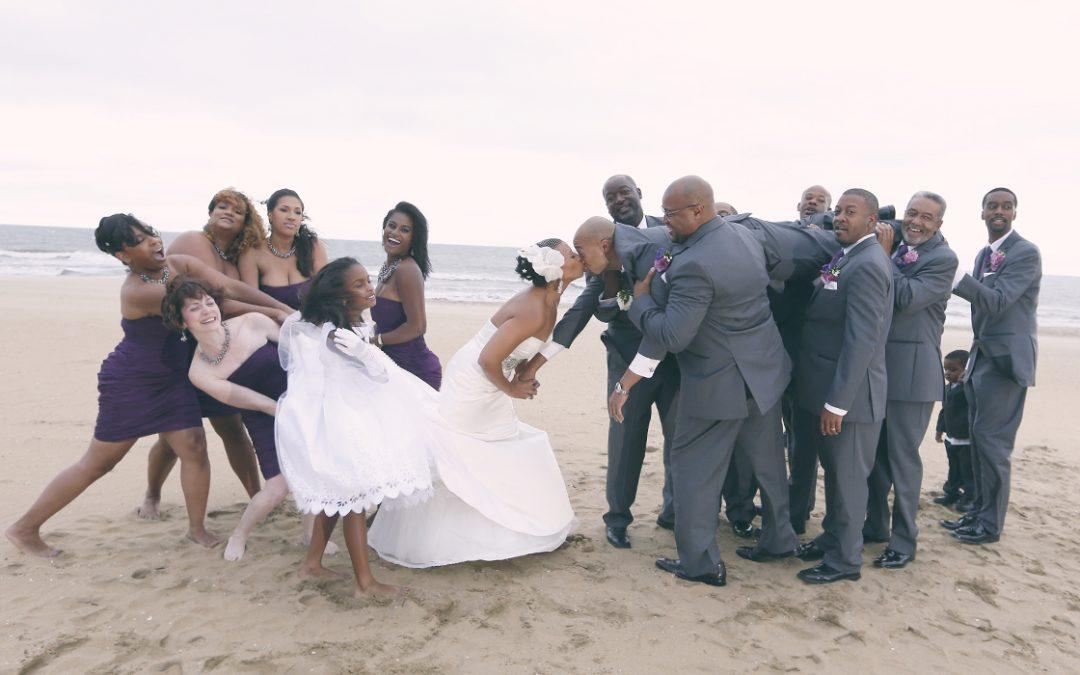 Sheraton Oceanfront Virginia Beach Wedding Photographer | Sneak Preview:  Alicia and Troy's Amazing Wedding!