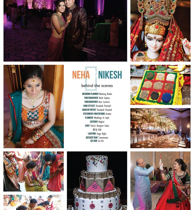 Virginia Beach Indian Wedding Photographer | Neha and Nikesh's Wedding Featured in Vow Bride!